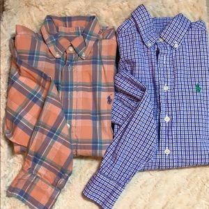 RL bundle of button down boys shirts